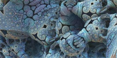 איור של חיים מיקרוסקופיים